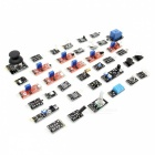 ARDUINO Compatible 37-in-1 Sensor Module Kit - Black