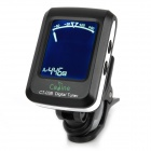 "1.3 ""Clip-On LCD Guitar Tuner - Negro (1 x CR2032)"