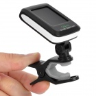 "1.3"" LCD Clip-On Guitar Tuner - Black (1 x CR2032)"