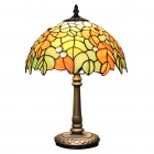 Tiffany-Stil Umbrella Typ Glasmalerei Tischlampe (110-120V)