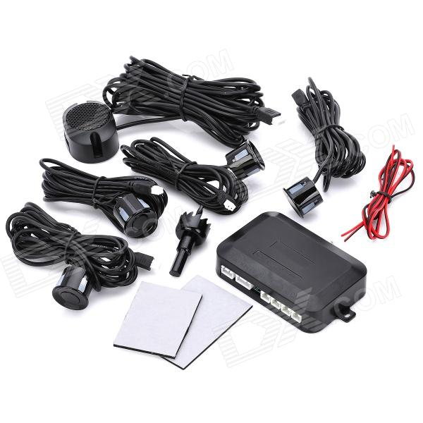 4-Sensor Car Ultrasonic Backup / Parking Sensor System - Black McAllen Продажа б у товаров