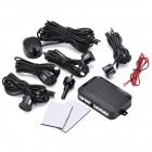 4-Sensor Car Ultrasonic Backup / Parking Sensor System - Black