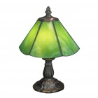 Tiffany-style Mission Aztec Table Lamp (110-120V)