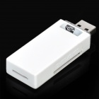 High Speed USB 3.0 SD / TF / SDHC / SDXC Memory Card Reader - White