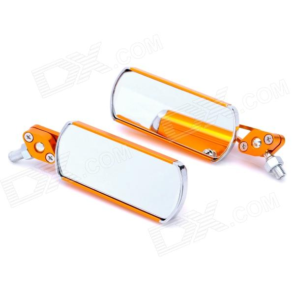 Aluminium Alloy Motorcycle Anti-Glare Rearview Mirrors - Golden (2-Piece) 2015 2 piece d3539