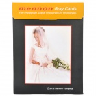 "Mennon 8 x 6"" and 6 x 4"" Gray Cards for Photograph (2-Piece Pack)"