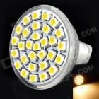 GU4.0 1.8W 150LM 3500K Warm White Light 30*3528 SMD LED Cup Bulb (12V)
