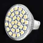 GU4.0 1.8W 150~180LM 6000~6500K 30x3528SMD LED White Light Bulb