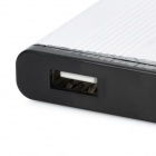 "USB 2.0 Hard Disk Drive Enclosure Case for 2.5"" HDD - Black + Silver (Max. 1TB)"