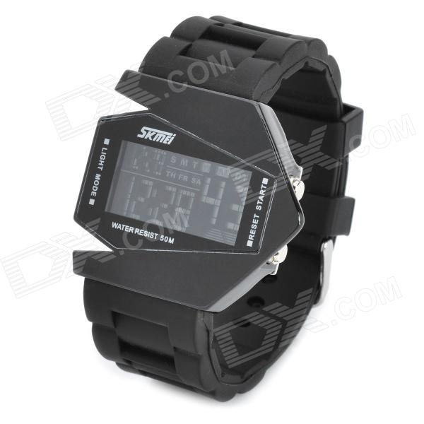 Plane Style Water Resistant LED Wrist Watch - Black (1 x LR626) планшет digma plane 1601 3g ps1060mg black