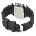 Plane Style Water Resistant LED Wrist Watch - Black (1 x LR626)