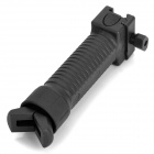 Retractable Tactical Rifle Grip BIPOD for AR15 / M16 Carbine - Black