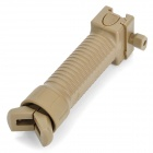 Retractable Tactical Rifle Grip Bipod for AR15 / M16 / M4 Carbine - Earthy