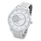 Men's Fashion Quartz Wrist Watch - White + Silver (1 x LR626)