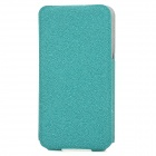 ROCK Protective Top Flip-Open PU Leather Case for Iphone 4 / 4S - Green