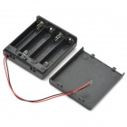 4 x AA Batteries Holder Case Box with Leads
