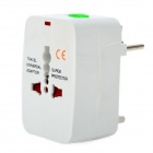Traveling Universal AC Power Adapter Charger - White