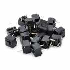 2-Pin Electrical Power Control Push Button Switch (20-Piece Pack)