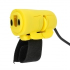 Creative USB 1200DPI Wired Optical Finger Mouse - Yellow