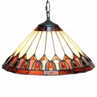 Tiffany Pendant Light with 2 Lights (220-240V)