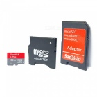 SanDisk Micro SD / TF Memory Card w/ SD Adapter - 32GB (Class 10)