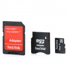 SanDisk Micro SD / TF Memory Card w/ SD Adapter - 16GB (Class 10)