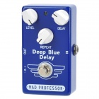 Guitar True Bypass Digital Delay Effect Pedal - Deep Blue