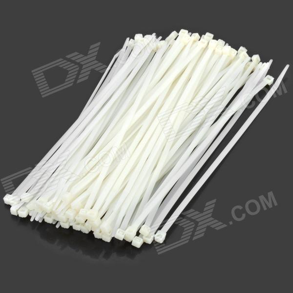 25cm Nylon Cable Zip Ties (100-Piece)