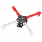 4-Axis Multi Flame Wheel Flame Strong Smooth KK MK MWC Quadcopter Kit - Red + White
