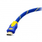 24K Gold Plated HDMI V1.4 Male to Male Connection Cable - Blue (15m)