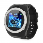 "ET-15 GSM Wrist Watch Phone w/ 1.5"" Resistive, Quad-Band, FM and Single-SIM - Black"