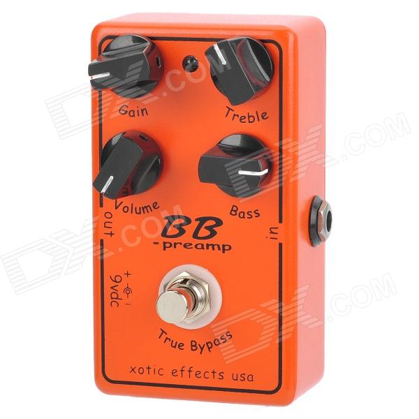 Guitar True Bypass Digital Overdrive Effect Pedal - Black + Orange new nux drive core stomp boxes core series overdrive core true bypass guitar effect pedals 1 pc pedal connector