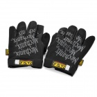 Mechanix Wear M-Pack Full Finger Tactical Gloves - Black (L-Size / Pair)