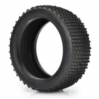 1/8 Rubber Racing Off-Road Car Model Replacement Tire w/ Insert Sponge - Black (110 x 43mm)