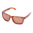 OREKA UV 400 Protection Fashion Resin Lens Polarized Sunglasses - Brown