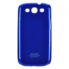 Protective Plastic Hard Case for Samsung Galaxy S3 i9300 - Deep Blue