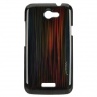 NILLKIN Protective PC Plastic Case w/ Screen Protector for HTC ONE X - Black