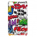 Smart Doodle Pattern Protective Back Case for Ipod Touch 4 - White