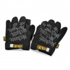 Mechanix Wear M-Pact Full Finger Tactical Gloves - Black (XL-Size / Pair)