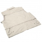 Topsky Outdoor Multifunction Quick-Dry Photography Vest - Light Khaki (Size-XL)