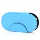 HORI Protective Artificial Leather Case w/ Plastic Back Holder for Sony PS Vita - Blue