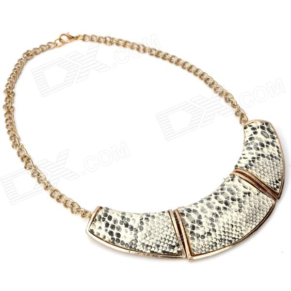 Women's Fashion Copper Necklace - Golden