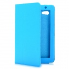 Protective PU Leather Case for Samsung Galaxy Tab P3100 - Blue