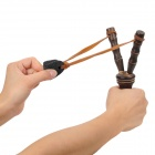 Stylish Wooden Slingshot - Brown