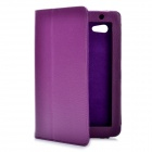 Protective PU Leather Case for Samsung Galaxy Tab P3100 - Purple