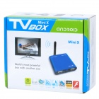 H24 Mini Android 4.0 Network Media Player w/ Wi-Fi / HDMI / USB / TF / AV - Red (4GB)