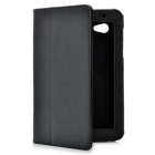 Protective PU Leather Case for Samsung Galaxy Tab P3100 - Black