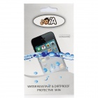 Protective PVC Waterproof Skin Case Cover for iPhone 4 / 4S