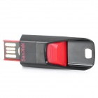 SanDisk Cruzer Edge USB 2.0 Flash Drive - Black + Red (8GB)