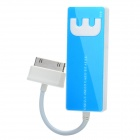 Multi-Card Reader for Samsung Gaxalxy Tab P7500 / P7510 / P7300 + More - Blue (Max. 16GB)